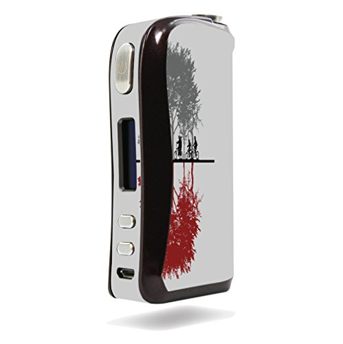 Decal Sticker Skin WRAP Two Dimensions Design for Aspire Pegasus
