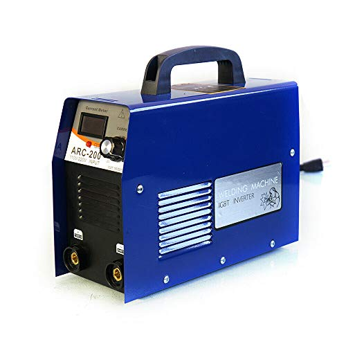 110V 20-200A Mini Electric Welding Machine IGBT Dual Voltage DC Inverter ARC MMA Stick Portable Handheld Welder Pilot Arc Cutting Machine Rod Stick Welding Machine