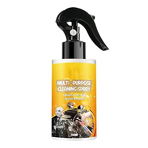 Tumnea Aerosol quitamanchas de Aceite Aerosol de Limpieza de automóviles Multifuncional para Eliminar óxido de automóvil para Eliminar Manchas de Aceite Pesado y óxido