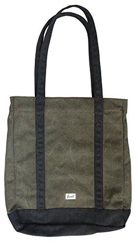FORVERT Shopping Bag Coco, Olive, 34 x 7 x 41 cm