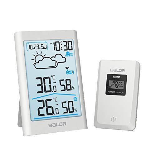 digitales Funkthermometer Wetterstation innen Innen und außen