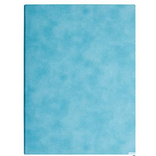 Llevar un Diario A4 de Cuero Grueso de la PU Cuaderno descartado, Resistentes al Desgaste, 7 Colores, Libro Grueso, Impermeable a la Tinta, for Las escuelas de la Oficina de Negocios, etc. Diario