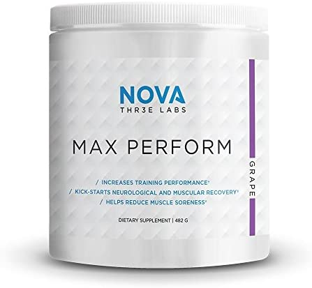 NOVA Three Labs Max Perform Powdered Preworkout Designed to Maximize Performance and Reduce product image