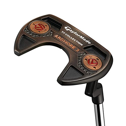 Mint TaylorMade TP Black Copper Ardmore 3 Putter Steel Right Handed 35 in