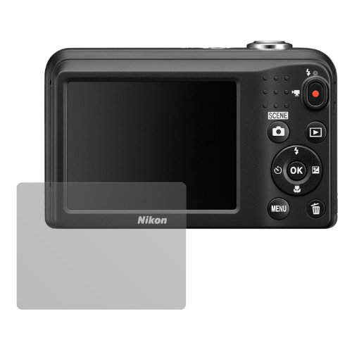 dipos I 6X Schutzfolie matt kompatibel mit Nikon Coolpix L29 Folie Displayschutzfolie