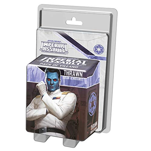 Fantasy Flight Games SWI57ES Star Wars Imperial Assault - Thrawn Villain Pack Brettspiel-Erweiterung (in spanischer Sprache)