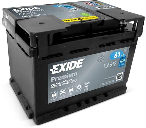 Exide Premium Carbon Boost EA612 61Ah Autobatterie