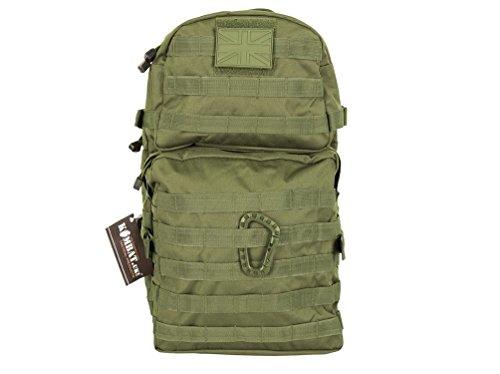 MOLLE Assault Pack Bergans Rucksack, 28 Liter, Militärlook, Olivgrün
