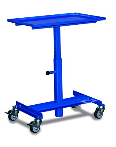 Materialständer RAL5010 Enzianblau Materialwagen Auflageständer Materialstütze