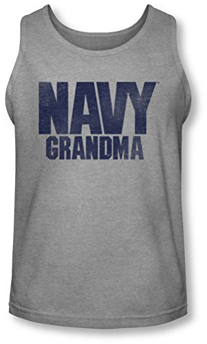 Navy - Mamie Débardeur Homme -, Small, Athletic Heather