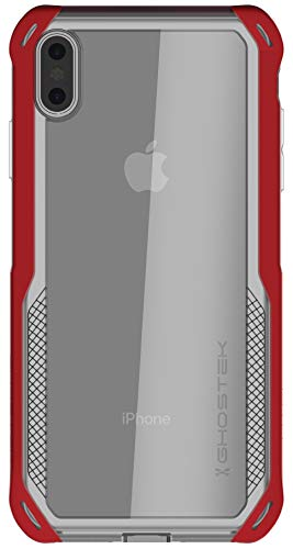 Ghostek Cloak 4 Series Stoßfeste Hybrid-Schutzhülle für Apple iPhone XS Max (2018), rot