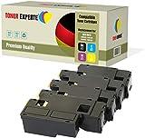 Kit 4 TONER EXPERTE® 106R01630 106R01627 106R01628 106R01629 Toner compatibili per Xerox Phaser 6000, 6010, 6010V, 6010V N, 6010N, WorkCentre 6015, 6015V, 6015V B, 6015V N, 6015V NI, 6015MFP