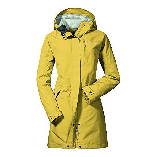 wasserdichte Regenjacke für Frauen mit praktischen Taschen, modische und leichte Damen Jacke für Frühling und Sommer