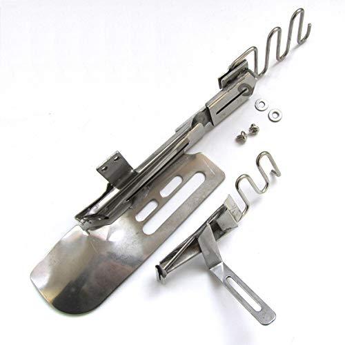 CKPSMS Marca – #KP-109 1 carpeta de ángulo recto con ribetes sueltos inferior compatible con 2 o 3 máquinas de puntadas de aguja (tamaño de cinta: 30 mm) ~ Tamaño del acabado: 7/16 pulgadas (11 mm).
