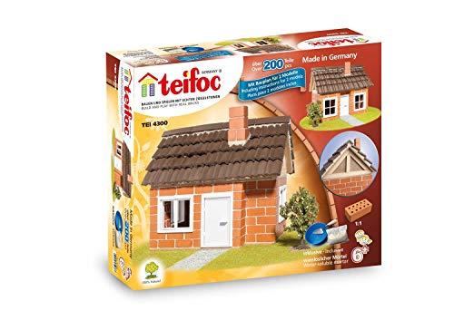Teifoc 4300 Steinbaukästen-TEI 4300-Fachwerkhaus, Multi Color, Fachwerkhaus