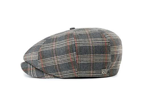 BRIXTON Brood SNAP Cap Headwear, Grau/Bräunen, M