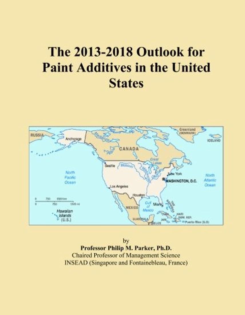ラフ文言武装解除The 2013-2018 Outlook for Paint Additives in the United States