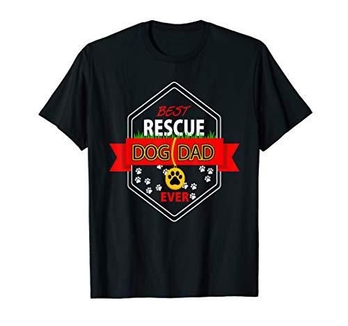 Bester Rettungshund-Vati überhaupt T-Shirt