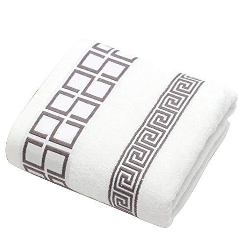 Toalla de algodón Lujo, 3 Unids/Lote 100% De Toalla De Algodón con 2 Toallitas De Cara + 1 Baño De Toallas De Baño para Familias Baños De Huéspedes Gimnasio (Color : Black)