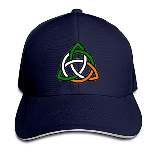 GFGS LKKG Celtic Knot Irish Unisex Hats Trucker Hats Dad Baseball Hats Driver Cap Navy