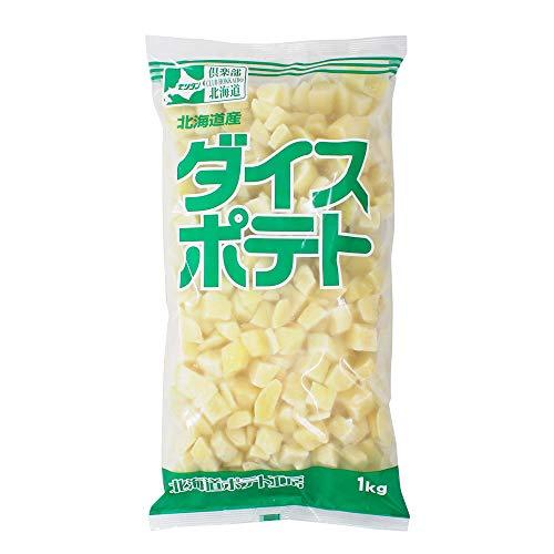 【mamapan】冷凍野菜 ダイスポテト モリタン 1kg 北海道産 じゃがいも 馬鈴薯