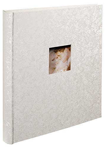 Exacompta 16210E Fotoalbum Emotion (60 pagina's, 29x32 cm) Wit gemarmerd