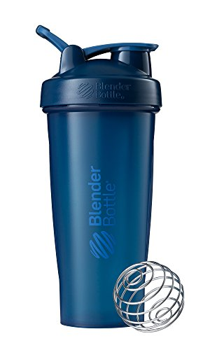 Blender Bottle Classic Loop Top Shaker Bottle, Navy/Navy