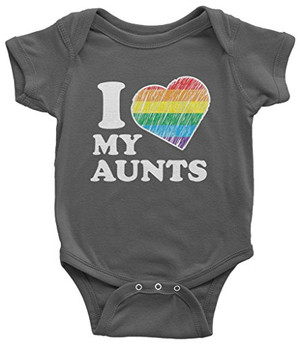 Threadrock Baby I Love My Aunts Infant Bodysuit