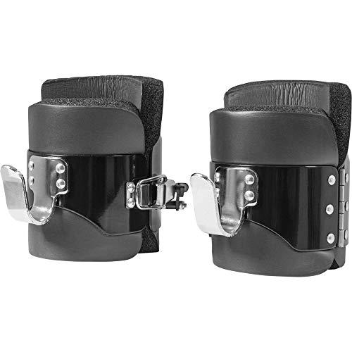 GORILLA SPORTS® Gravity Boots Schwarz mit Sicherheitsverschluss – bis 250 kg belastbar
