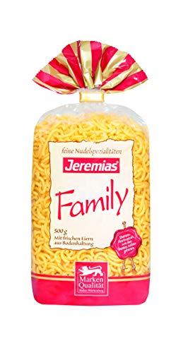 Jeremias Gabelspaghetti, Family Frischei-Nudeln, 4er Pack (4 x 500 g Beutel)