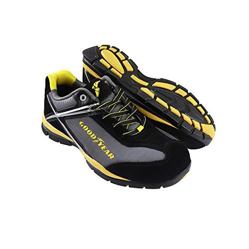 GoodyearGYSHU1511, Zapatillas de Seguridad Hombre, Negro (Black), 43 EU
