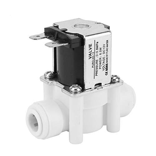 G1 / 2 N/C Válvula de entrada de agua Válvula de solenoide Agua de plástico Válvula de solenoide eléctrica Normalmente cerrada Válvula magnética Válvula de entrada de agua Válvula de agua