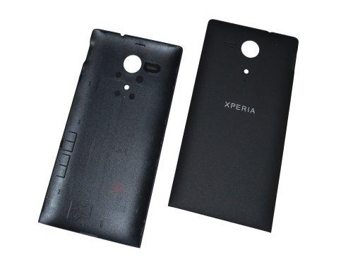 Xperia SP Sony M35H C5303Back con Cover Copribatteria Originale, Colore: Nero