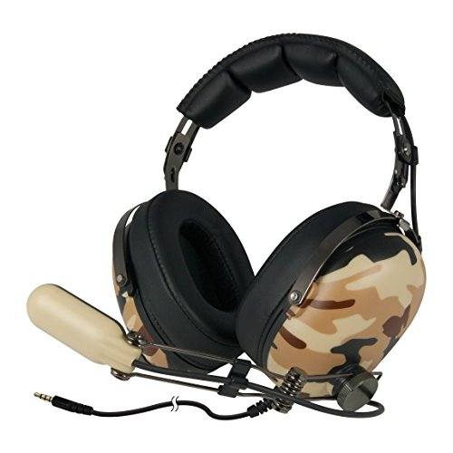ARCTIC P533 - Stereo Gaming Headset I Hi-Fi-Sound I Boom Microphone I Headphone for Gaming with 3.5 mm Jack I Ultra-Comfortable I for PC Computer Gaming, Xbox, Playstation - Military Accessories Electronics Features Headsets
