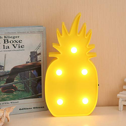 XHSHLID USB LED ananas lamp deco party LED slaapkamer voor kinderen cartoon tafel cartoon boom kokosnoot nachtlampje decoratie voor Kerstmis party