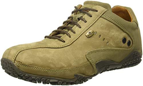 Woodland Men's Khaki Sneakers - 8 UK/India (42 EU)(GC 0572108CMA)