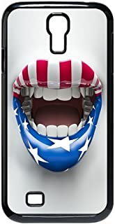 American Flag for Samsung Galaxy S4 Tough Case - Stars & Stripes - Red White and Blue Distressed Us Flag Design for Samsung Galaxy S4 Case