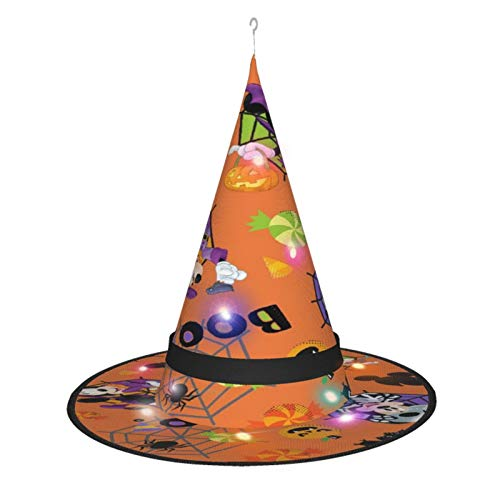 See More Mickey and Minnie Halloweenhalloween Witch Hat Lights, Halloween Decorations Indoor Outdoor Hanging Lights, Witch Hat String Lights, Christmas Party Masquerade