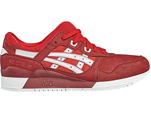 Asics Tiger Damen Gel-Lyte III Schuhe, Rot (True Red/White), 40 EU