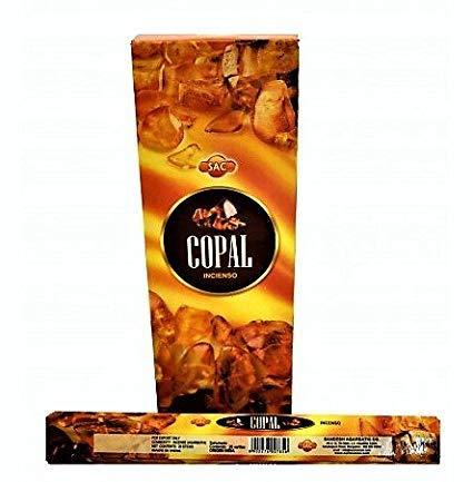 SAC Incienso Copal 6x20=120 Varillas aromáticas