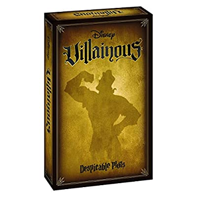 Ravensburger Disney Villainous: Despicable Plots Strategy Board Game for Ages 10 and Up – The Newest Standalone Game in The Award-Winning Disney Villainous Line by Ravensburger