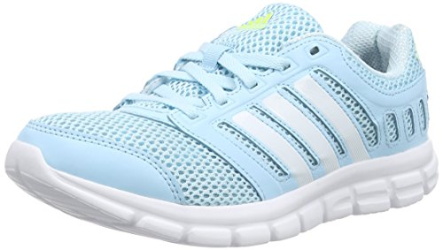adidas Damen Breeze 101 2 W Laufschuhe, Blau (Froblu/Ftwwht/S), 40 2/3 EU