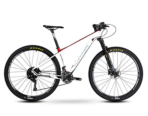 DUABOBAO Mountainbike, Herren-Mädchen, Kinderjugend, Ultraleichter Carbon-Rahmen, 29 Zoll, Sportfahrrad Outdoor-Familien-Rennrad,C,17