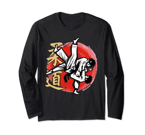 Judo Judoka Kampfkunst Langarmshirt
