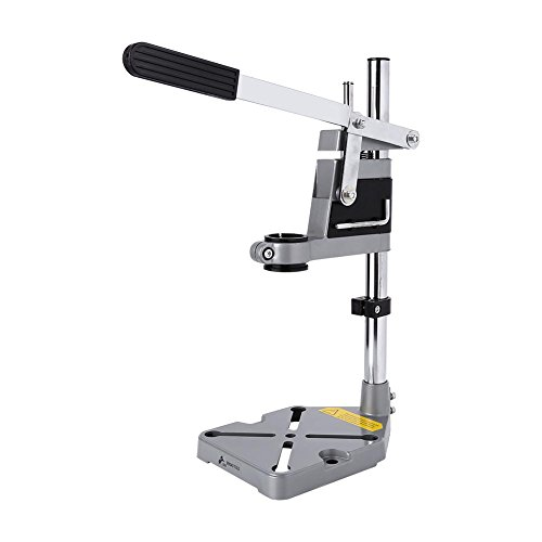 Drill Bench Press Stand, Universal High Accuracy Stability Bench Workstation Clamp Drill Press Stand Workbench Repair Multi-functional Adjustable Tool Drill Press Support Stand