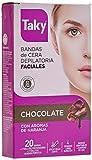 Taky Depilación Banda Facial Chocolate, 20 unidades