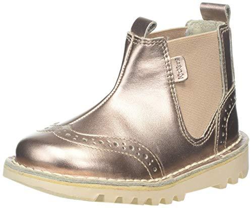 Kickers Baby Mädchen Kick Brogue Chella Stiefel, Gold (Gold Gld), 26 EU