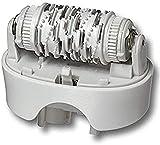 Braun Cabezal de depiladora estándar de repuesto 67030946 Silk Epil 7 se adapta a tipo 5340, 5375, 5376, 5377 con cepillo de limpieza