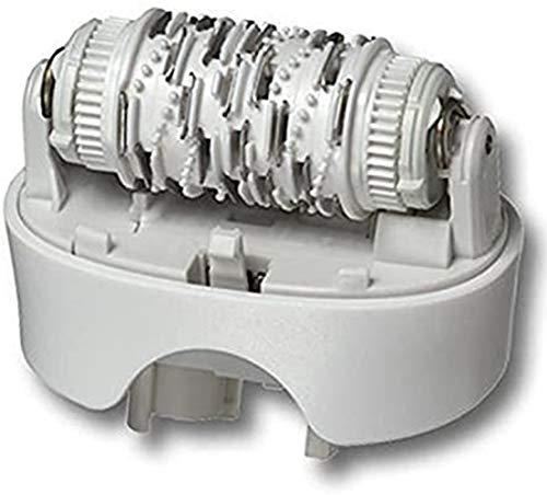 Braun Standard Epilierkopf 67030946 Silk Epil 7 passend für Typ 5340, 5375, 5376, 5377 mit Reinigungsbürste