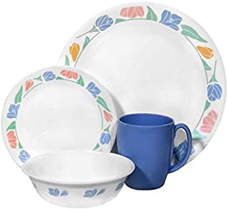 Corelle Livingware 16-Piece Dinnerware Set, Service for 4, Friendship